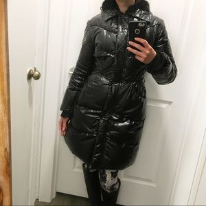 Ermanno Scervino Quilted Down Puffer Coat 💯 AUTH